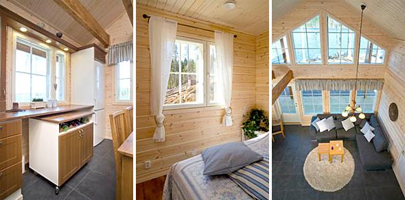 Lämpöhirsitaloja Rengossa  Polarhouse