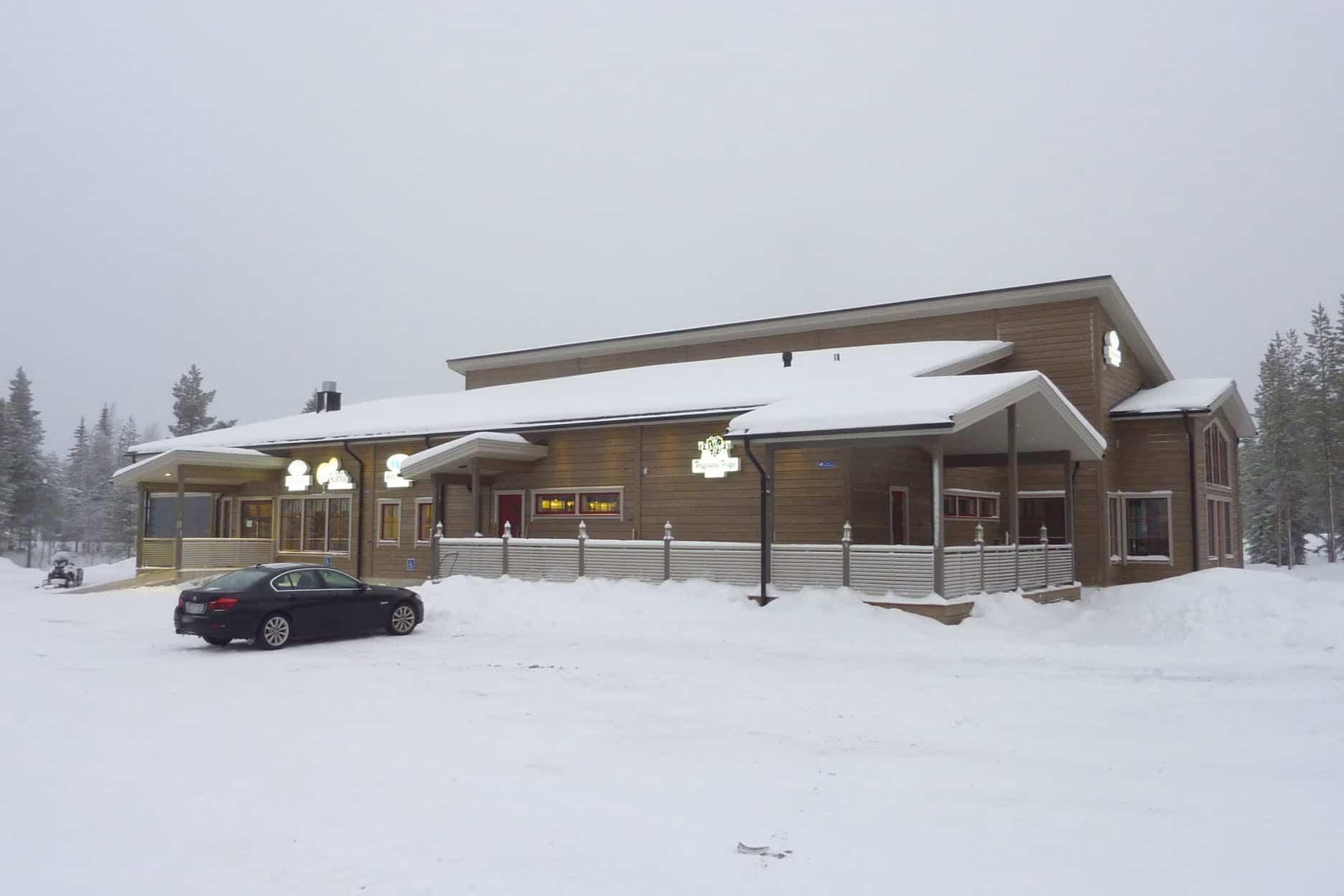 Новое здание для ресторана Kiela