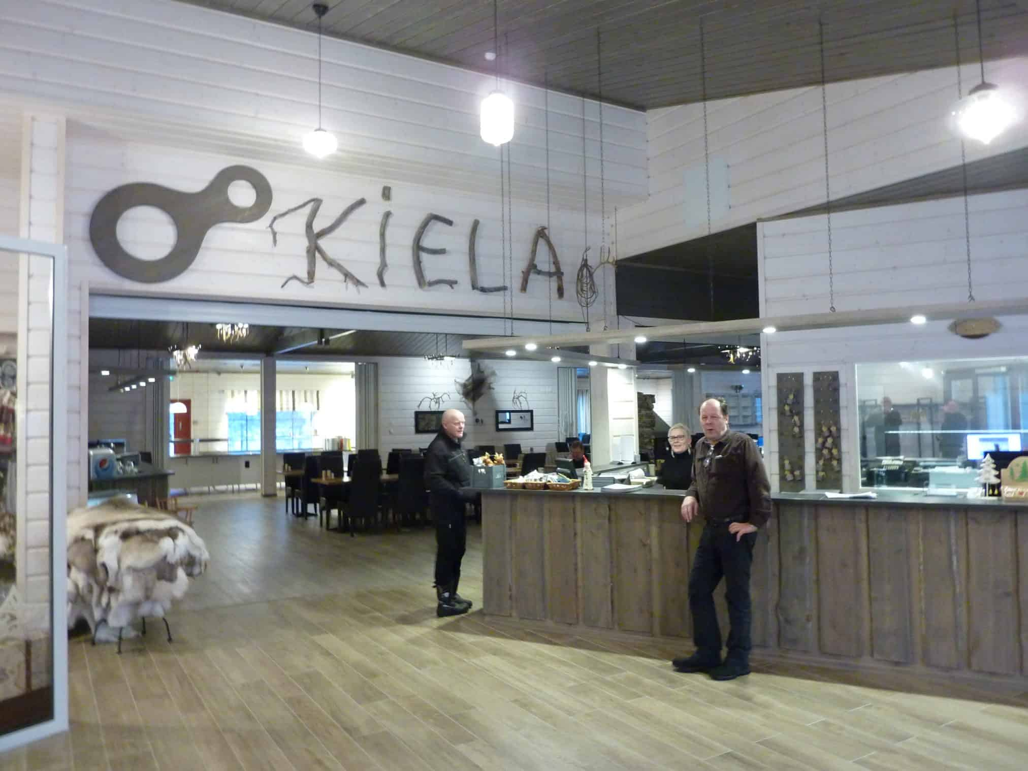 New building for the restaurant Kiela