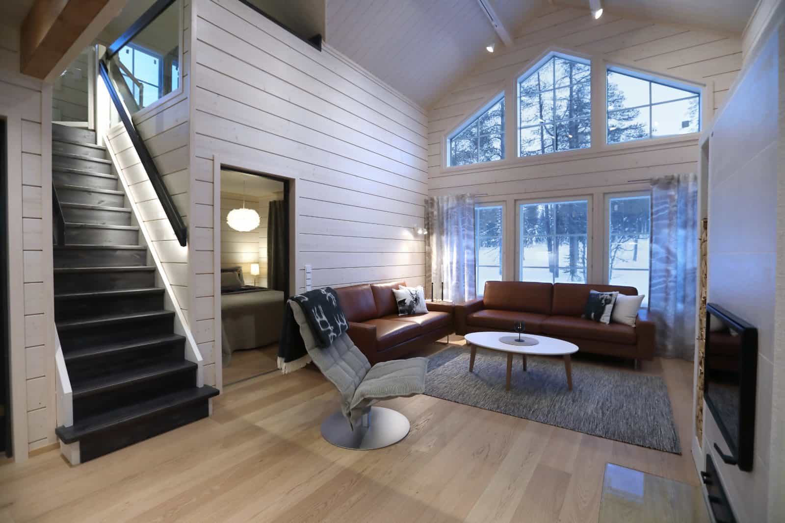 Polarhousen uusin näyttelytalo Ylläksellä, Taiga 120 on myynnissä